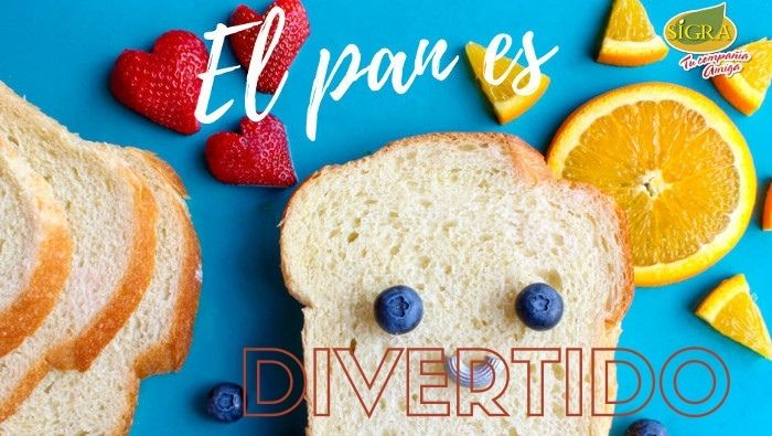 EL PAN ES DIVERTIDO